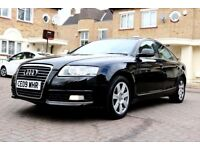 AUDI A6 2.0TDI SE AUTOMATIC 4 DOOR SALOON FSH DOCTOR OWNER SATNAV HPI CLEAR EXCELLENT CONDITION