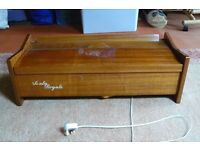 Vintage Italian reed organ.