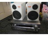 Yamaha DSP-AX640SE AV Stereo Amplifier and Speakers