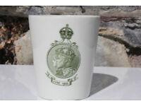 Unusual Rare 1902 Royal Doulton Edward VII Cup The Kings Coronation Dinner British Royal