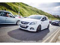Vauxhall Corsa vxr Arctic edition