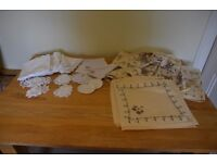 Table Cloths and Place Settings