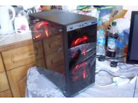 Quad Core Gaming PC A10-7800 3.5GHz 8GB RAM 120GB SSD Radeon R7 250 2GB GPU Win 10