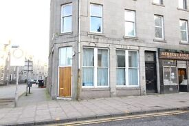 Spacious two bedroom flat in city centre available with immediate entry, King Street