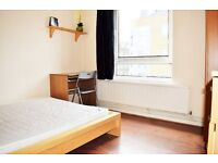 Spacious Double Room To Rent In Whitechapel E1. £150 p/w all bills inclusive