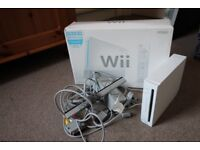Nintendo Wii Console with Fit Board and 8 games