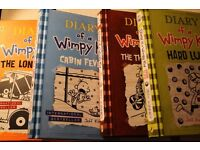 Diary Of The Wimpy Kid Hardbacks