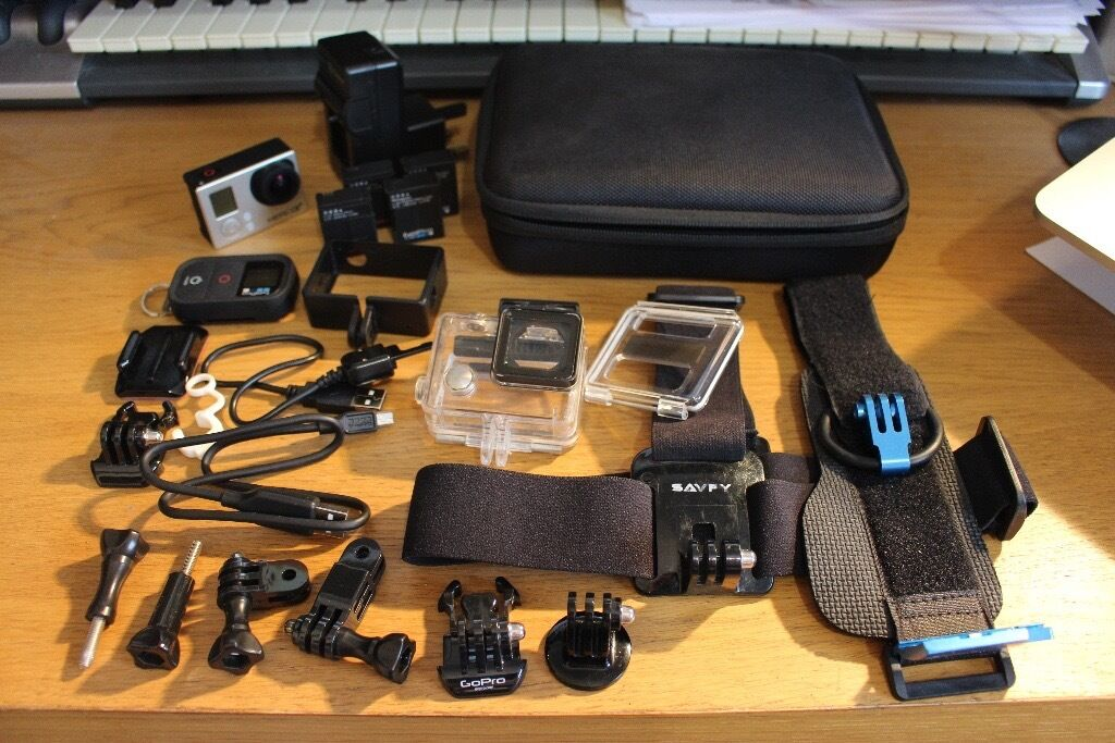 gopro hero 3 black edition in plymouth devon gumtree. Black Bedroom Furniture Sets. Home Design Ideas