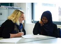 Volunteer opportunity - tutoring English or maths