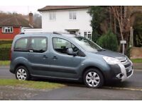 Citreon Berlingo Wheelchair Access Vehicle, 2011, 4 seats, rear parking sensors, good condition.