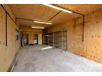 450sq ft Storage Lock up/Workshop to rent less than a mile from West Malling High Street £150P/W