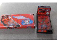 Pinball game - fairground style boxed game.