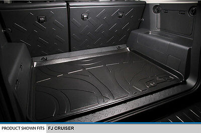MAXTRAY All Weather Custom Fit Cargo Liner Mat for FJ CRUISER Black