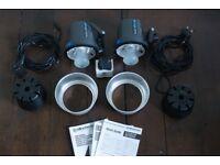 Elinchrom D-Lite RX One kit w/EL-Skyport transmitter (2 stands, 2 umbrellas)