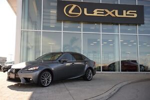2015 Lexus IS 250 AWD * BACK UP CAM POWER ROOF HEATED WHEEL