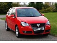 VW Polo 1.8 GTi 5dr Manual, 2 Owners, Full Comprehensive Service History