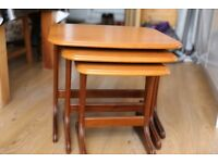 Nest of tables, very good condition