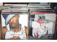200 x 12 inch collection. Old Skool Hip Hop / R & B Collection 1980's - 90's