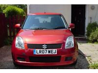 Suzuki Swift 1.5l 5dr 2007 - Low Miles, Great Condition, MOT March 2018