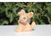 Vintage Sylvac Dog Figurine 1119 Terrier Dog with Bow Dog Ornament Slyvac