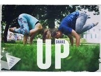 ShakeUp Yoga! Stretch your imagination and your body!