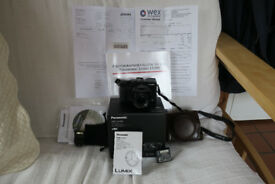 Panasonic Lumix DMC-LX100 Digital Camera plus extras