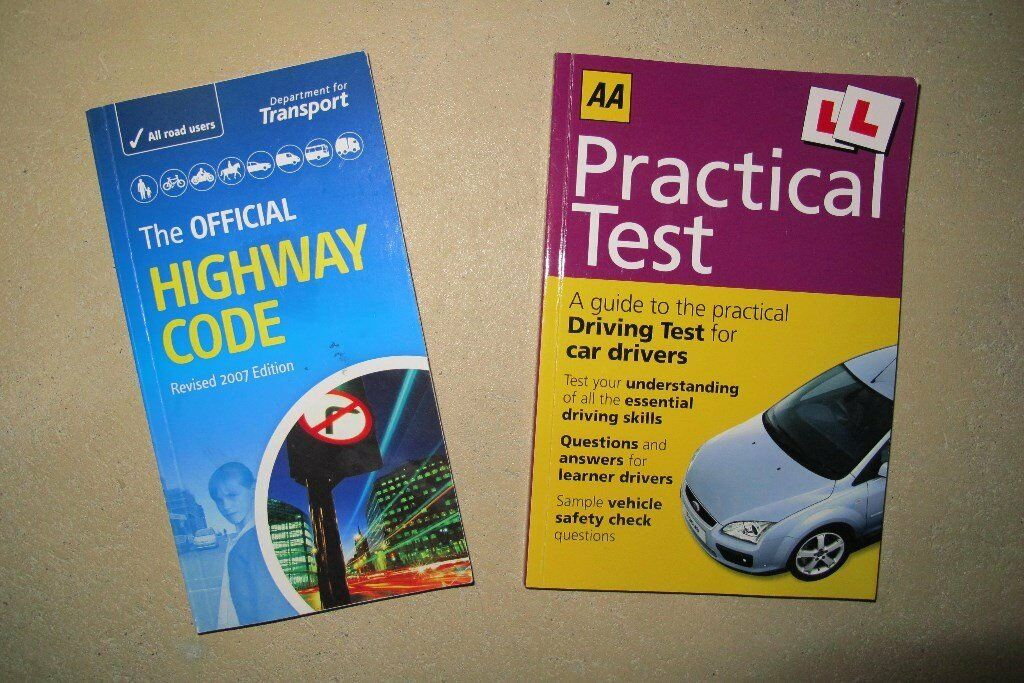 Official Highway Code/Practical Driving Instruction Books