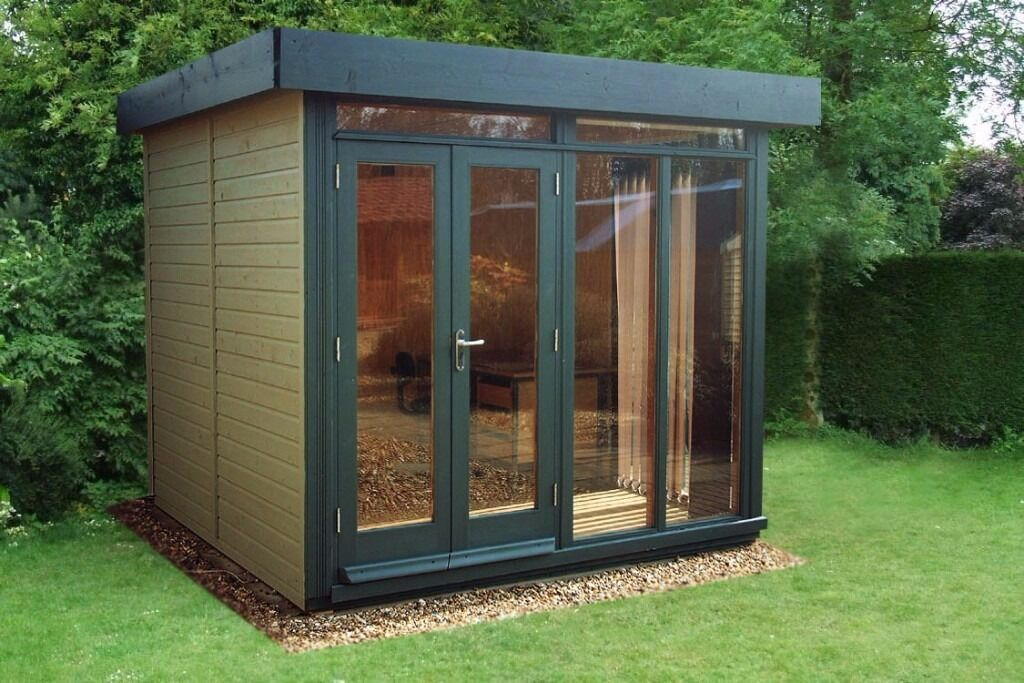 Working from home fully insulated garden buildings in for Insulated garden buildings