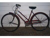 Vintage RUDGE single speed bike