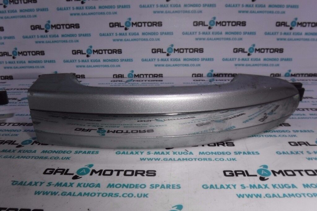 FORD GALAXY S-MAX EXTERNAL DOOR HANDLE IN STARDUST SILVER 2006-2010 AR07-1
