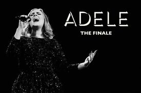 2x Adele pitch standing tickets, Wembley Stadium London, Thursday 29th June 2017