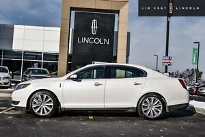2014 Lincoln MKS 3.5L ECOBOOST V6 24V AWD 201A PACKAGE W/ DUAL P