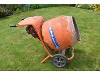 Belle petrol cement mixer (Honda engine)