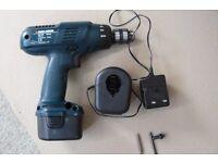 Drill Cordless Black and Decker 12V