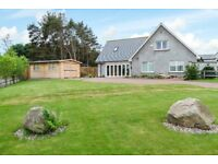 FOR SALE 5 Bed HOUSE SCENIC LOCATION - TARLAND, ABOYNE