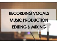 Recording Music Studio - VOCALS - Backing Tracks - MIXING - DEMO Production - Singing Lessons