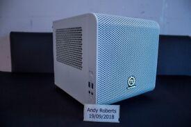 Mini ITX Gaming PC - Intel Core i5, 16GB RAM, Asus Strix RX570 4GB Graphics Card, 240GB SSD, 1TB HDD
