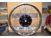 "BSA Bantam D1 / D3 Rebuilt Rear Wheel, 19"","