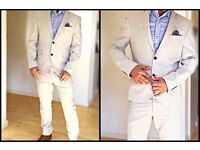 Next skinny fit suit. Used ones only, perfect condition . Shirt GRATIS