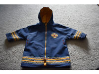 baby boys jacket, Fire Chief, 6-12 months, excellent condition