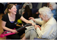 Franchise Opportunity for musicians and performers in care homes