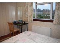 One double bedroom in a 2 bedroom house, Longstone. Short term let.