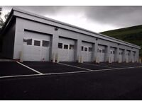 Industrial Units to Rent for storage or use as a workshop