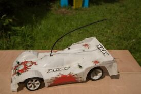X Ray Mark Xii, 1/12th Scale Radio Control Pan Car.