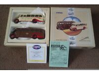 CORGI 1/50 SCALE SOUTH WALES BUS SET IN MINT & BOXED CONDITION.