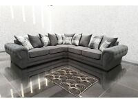 REDUCED BY 50% RRP**BRAND NEW GENUINE FABRIC CHESTERFIELD STYLE RANGE**CORNER SOFAS, SETS, CHAIRS
