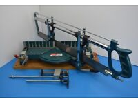 Richmond Precision Mitre Saw - with clamps and end support.