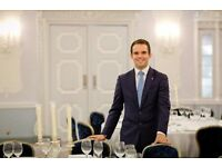 In-Room Dining Waiter - Future opportunities, Competitive Salary, Mayfair