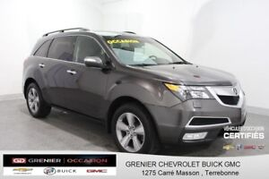 2012 Acura MDX TECH TECH AWD *7 PASSAGERS GPS CUIR TOIT OUVRANT