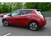 Nissan Leaf TEKNA (red) 2015-03-31